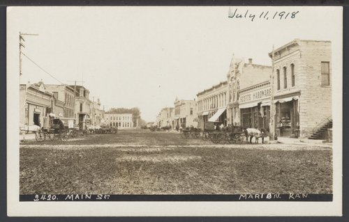 Main street in Marion, Kansas - Page