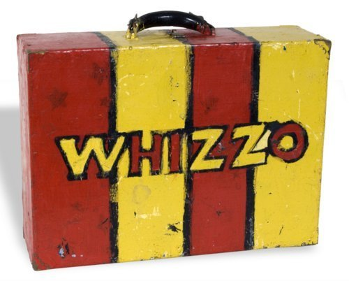 Whizzo the Clown suitcase - Page