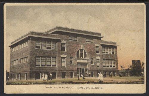 Kinsley High School in Kinsley, Kansas - Page