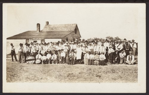 Kinsley band near Offerle, Kansas - Page