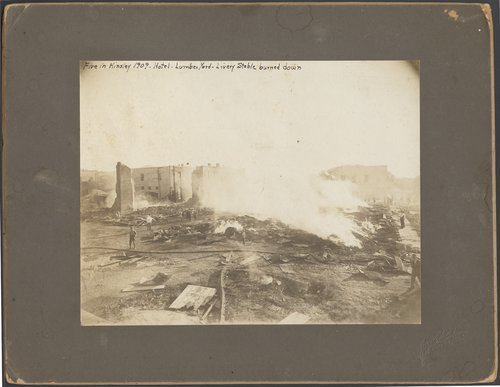 Fire in Kinsley, Kansas - Page