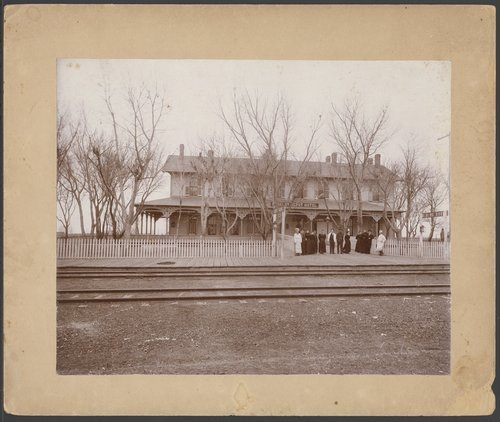 Depot hotel in Kinsley, Kansas - Page