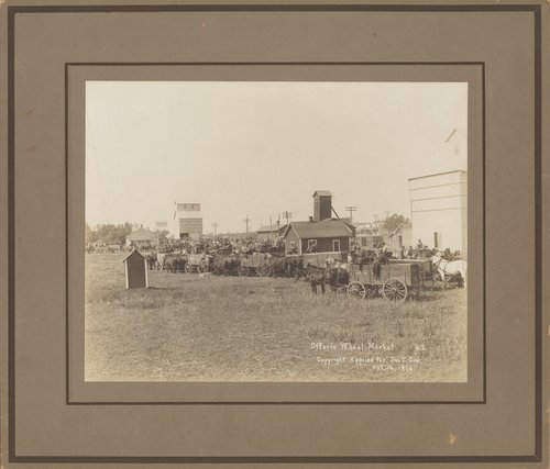 Wheat market in Offerle, Kansas - Page