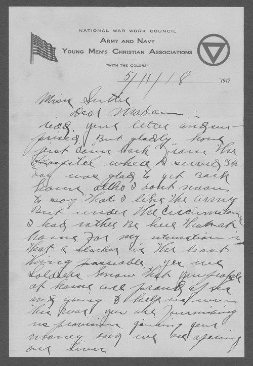 Albert Nelson, World War I soldier - Page
