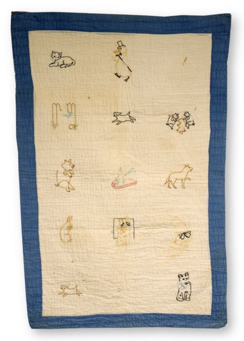 Child's quilt - Page