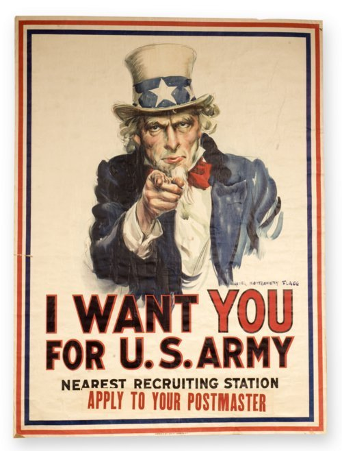 World War I recruiting poster - Page