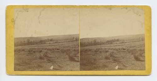 View of prairie near Tonganoxie on branch road between Leavenworth and Lawrence, Kansas - Page