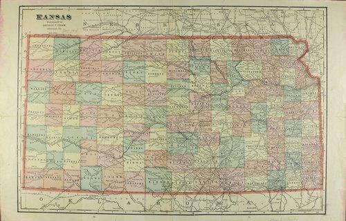 Kansas map - Page