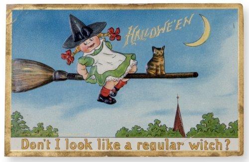 Halloween postcard - Page
