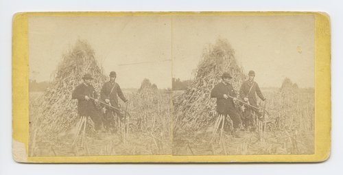 Prairie hunting, Topeka, Kansas. 351 miles west of St. Louis Mo. - Page