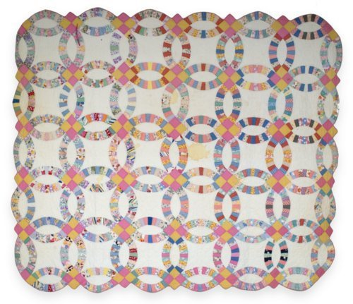 Double Wedding Ring quilt - Page