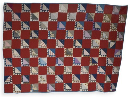 Bear's Paw quilt - Page