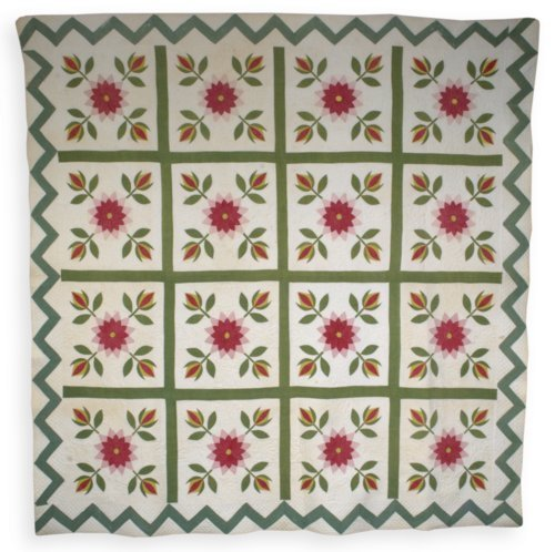 Rose and Tulip quilt - Page