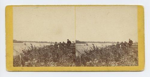 View on Kansas River, Topeka, Kansas. 351 miles west of St. Louis Mo. - Page