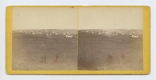 Manhattan, Kansas. 401 miles west of St. Louis Mo. - Page