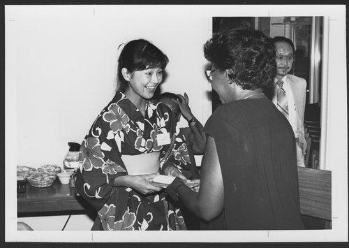 Japanese nurses visit the Menninger Clinic in Topeka, Kansas - Page