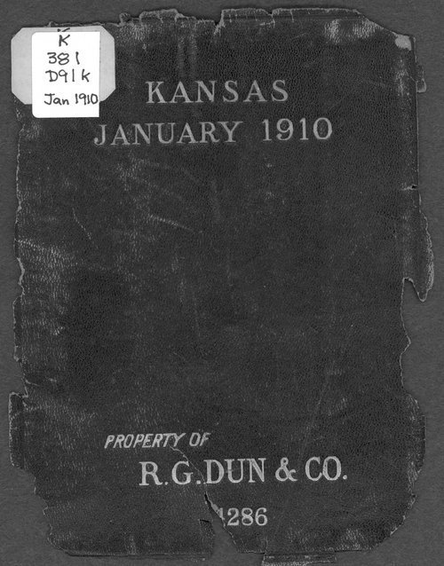 Mercantile agency reference book: Kansas - Page