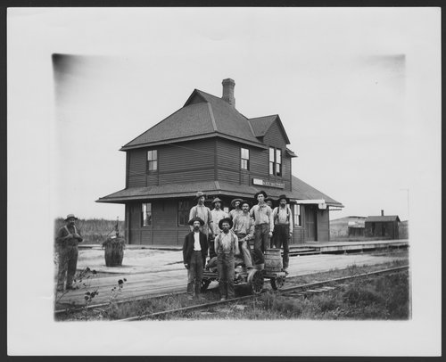 Chicago, Rock Island & Pacific Railroad track crew, Kechi, Kansas - Page