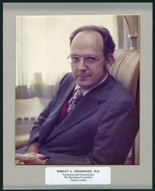 Robert G. Menninger, M.D. - Page