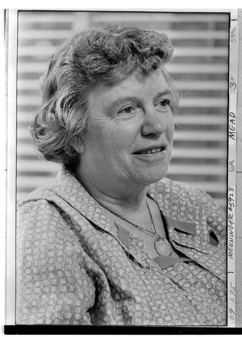 Margaret Mead at the Menninger Foundation in Topeka, Kansas - Page