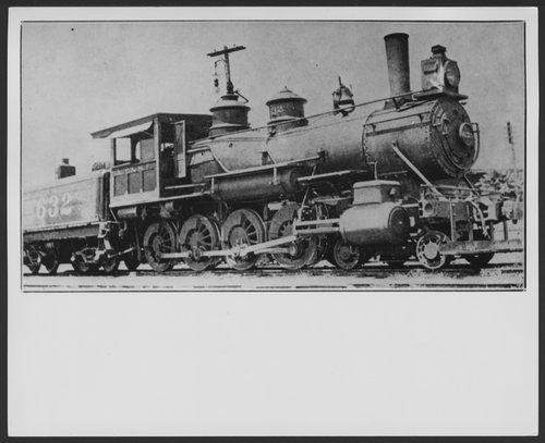 Atchison, Topeka & Santa Fe Railway Company's steam locomotive #632 - Page