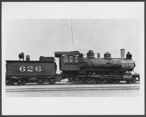 Gulf, Colorado & Santa Fe Railway Company's steam locomotive #626 - Page