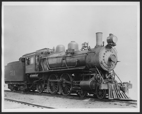 Atchison, Topeka & Santa Fe Railway Company's steam locomotive #511 - Page