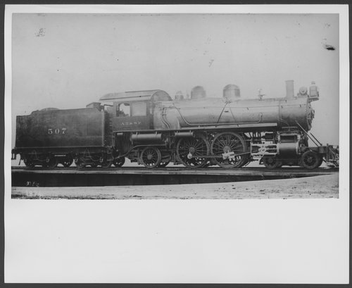 Atchison, Topeka & Santa Fe Railway Company's steam locomotive #507 - Page