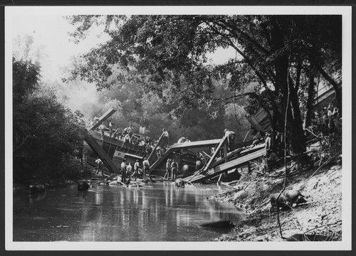Train collision, Jefferson County, Kansas - Page