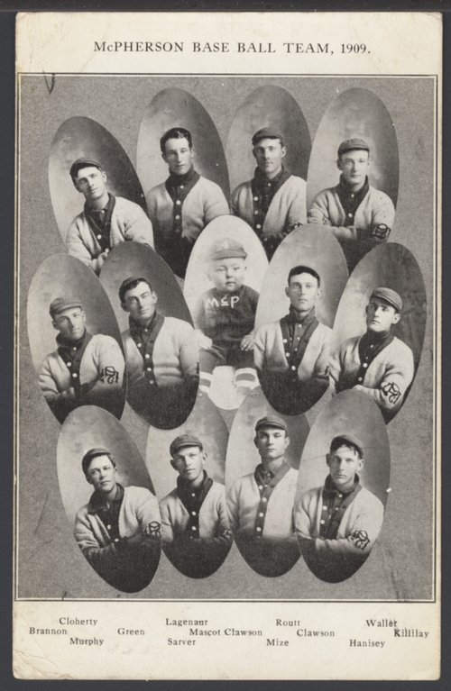 Baseball team, McPherson, Kansas - Page