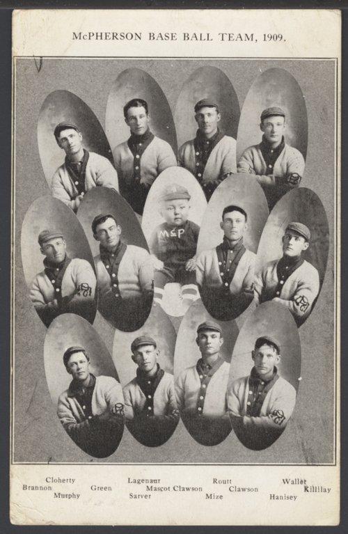 Baseball team, McPherson, Kansas - Page