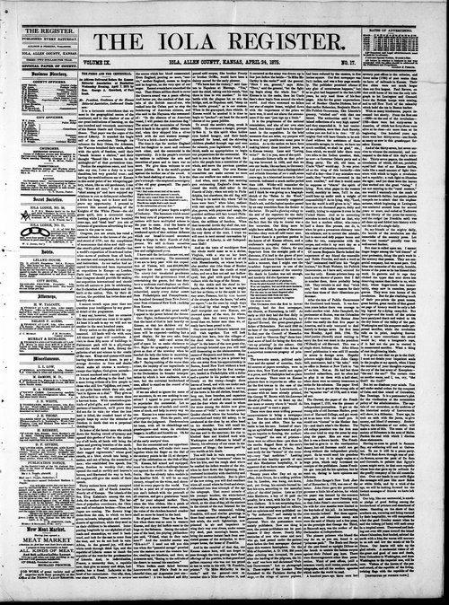 Iola register - Page