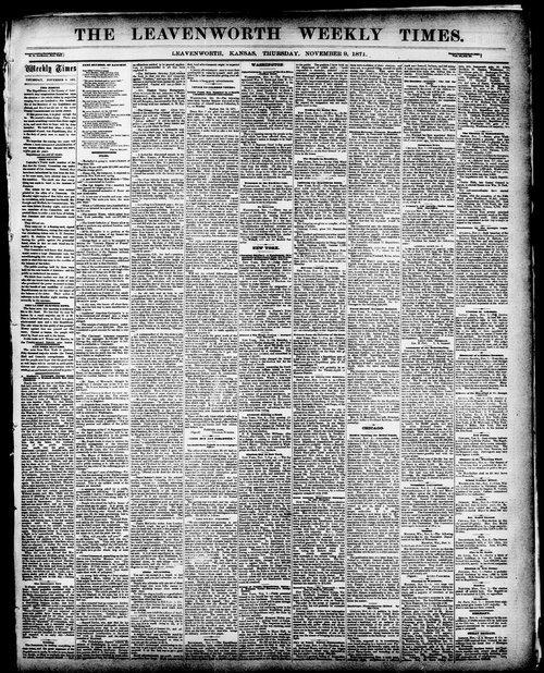 Leavenworth weekly times - Page