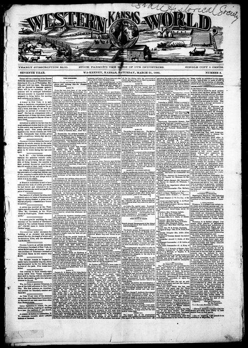 Western Kansas world - Page