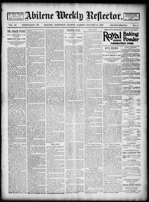 Abilene weekly reflector - Page