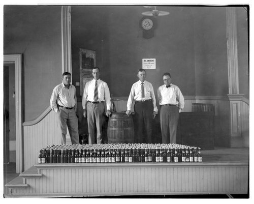 Confiscated beer, Eureka, Kansas - Page