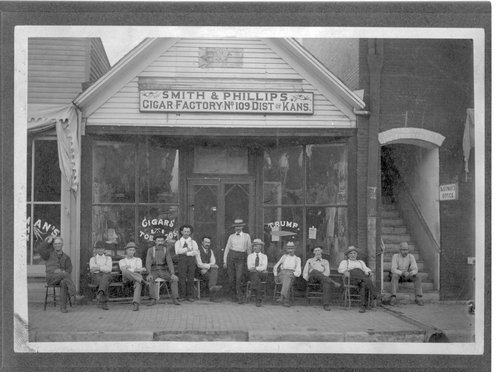 Smith & Phillips Cigar Factory, Clay Center, Kansas - Page