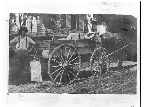 Ice wagon, Topeka, Kansas - Page