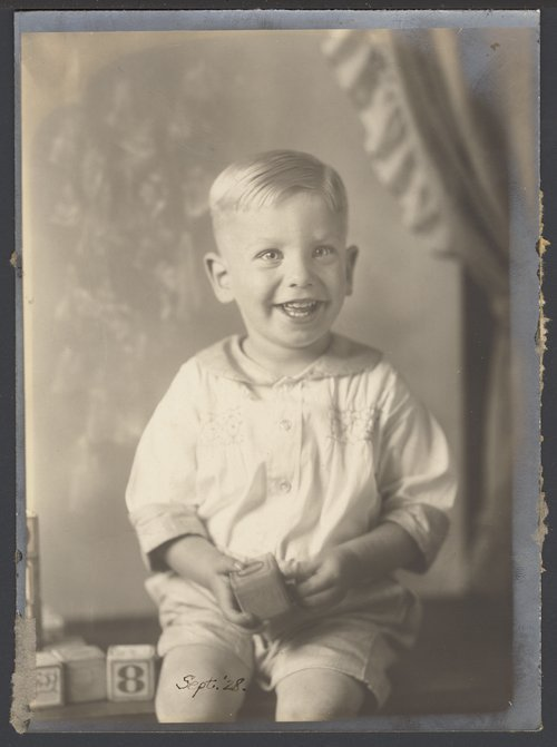 Roy Menninger, M.D. as a child - Page
