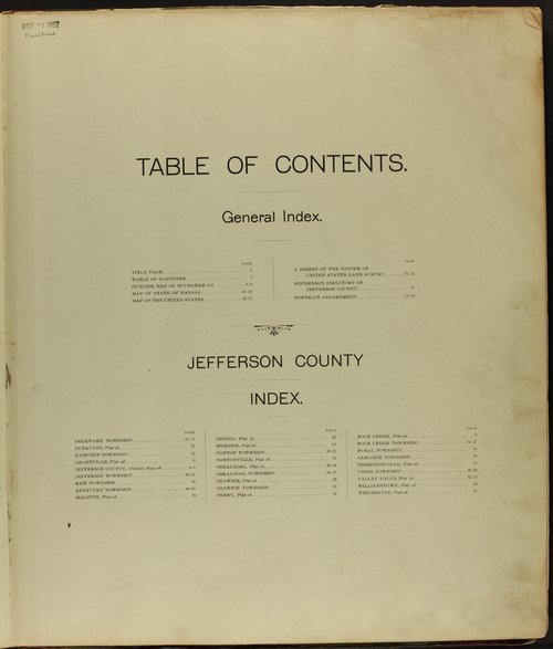 Descriptive atlas of Jefferson County, Kansas - Page