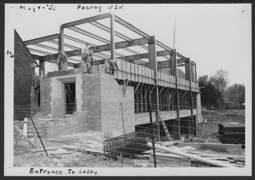 Construction of the C.F. Menninger Memorial Hospital in Topeka Kansas - Page