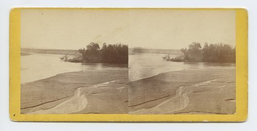 Junction of Smoky & Republican River, Kansas. 420 miles west of St. Louis Mo. - Page
