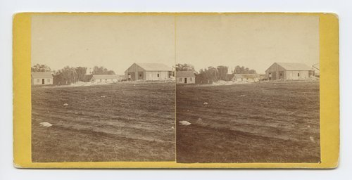 Stone sawing mill at Junction City, Kansas. 423 miles west of St. Louis Mo. - Page