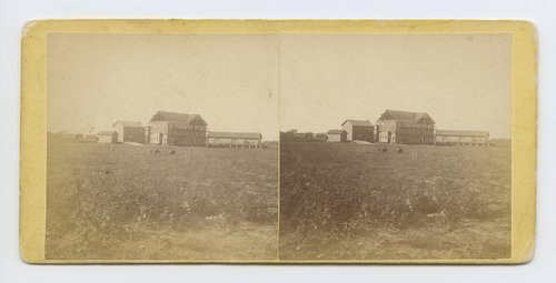 Hotel & depot Salina, Kansas. 470 miles west of St. Louis Mo. - Page