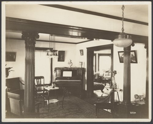 Interior views of the early Menninger Sanitarium in  Topeka, Kansas - Page