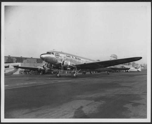 Atchison, Topeka & Santa Fe Railway Company's skyway aircraft, Los Angeles, California - Page