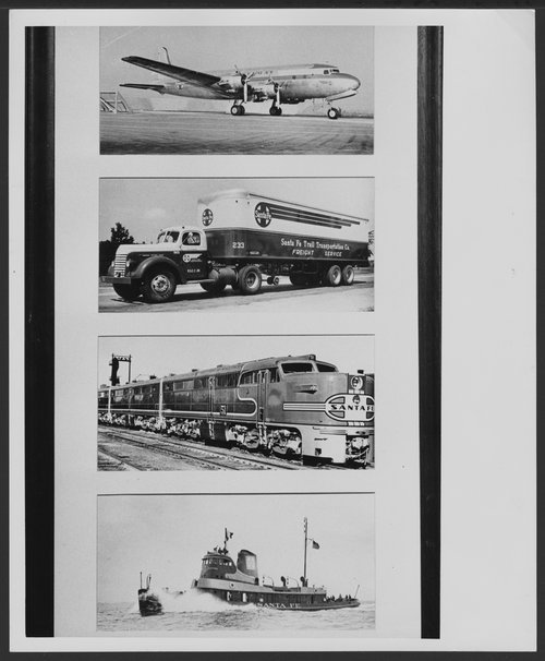 Atchison, Topeka & Santa Fe Railway Company's freight operations - Page
