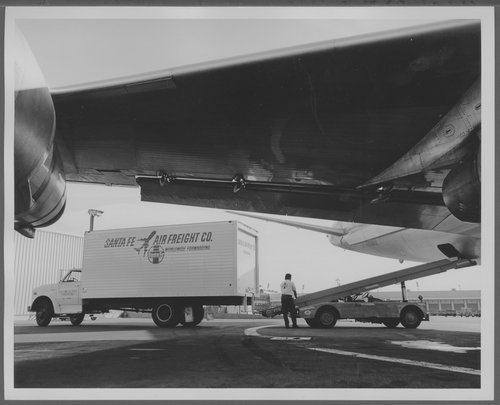Atchison, Topeka & Santa Fe Railway Company's air freight division, Los Angeles, California - Page