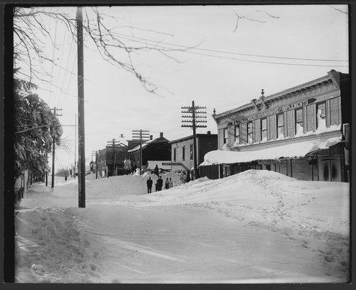 Snow scenes, Holyrood, Kansas - Page