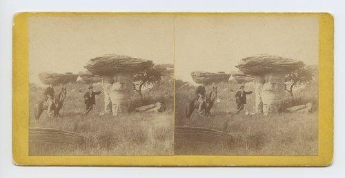 Mushroom Rock on Alum Creek, Kansas - Page